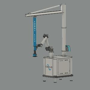 Mobile Cobot Lift front