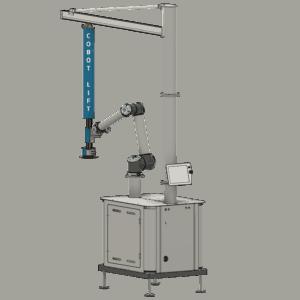 Mobile Cobot Lift back