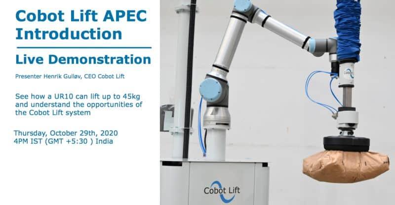 Cobot Lift APEC Live demonstration