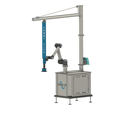 Mobile Cobot Lift front